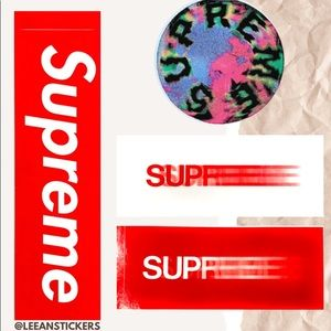 Supreme Motion Stickers Pack (4 STICKERS!)